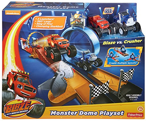 Blaze y los Monster Machines - Estadio monster dome (Mattel CGC92)