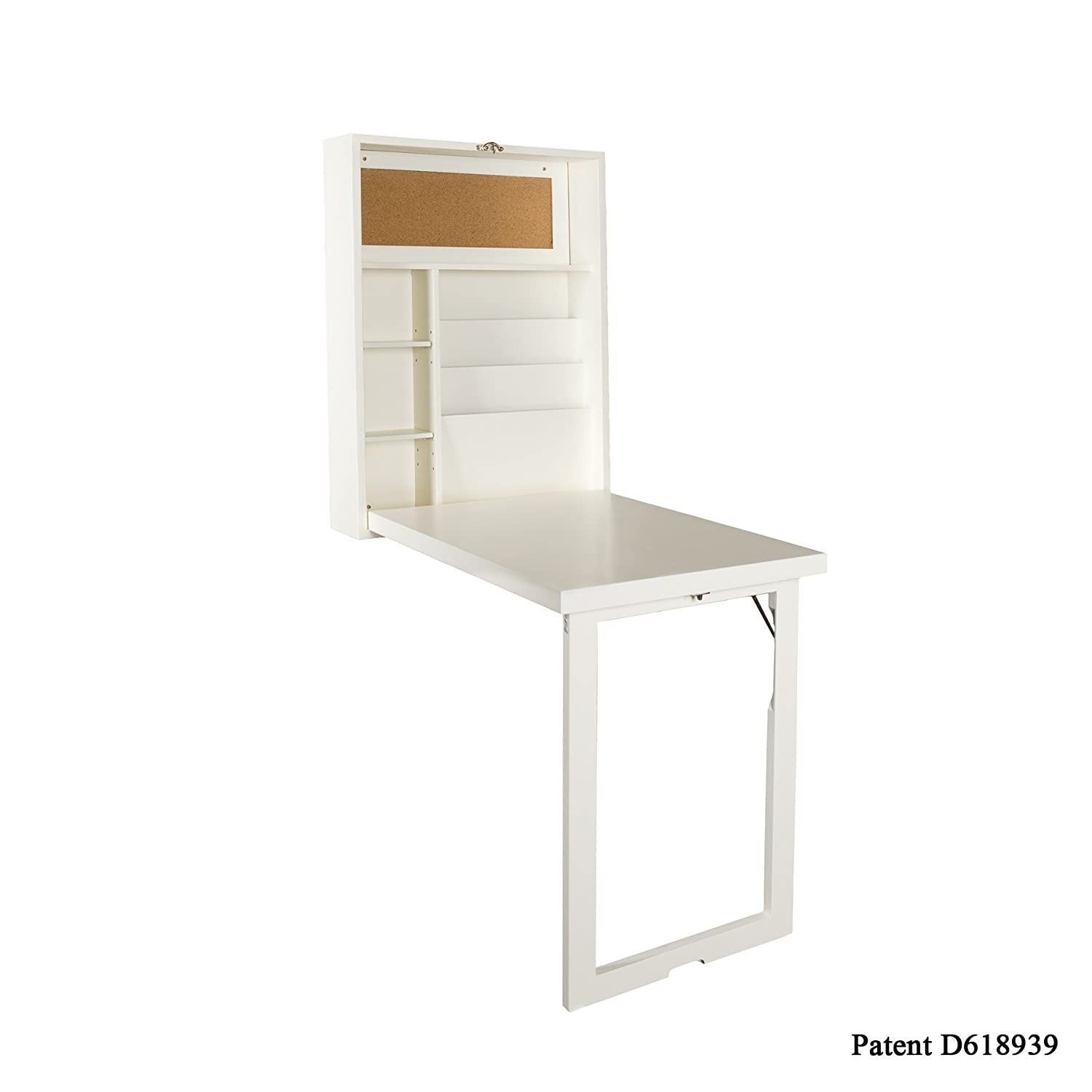Fold Out Desk Fold Out Wall Mount Convertible Desk White Kitchen