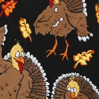 Thanksgiving TIES Turkeys Neckties Apparel Accessories ...
