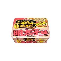 明星 一平ちゃん夜店の焼そば 明太子味 124g×12個