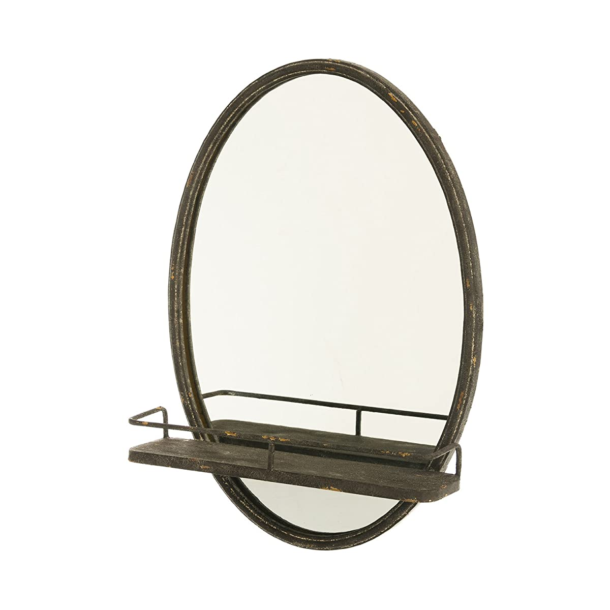 Metal Wall Mirror With Shelf Cape Craftsmen Wall Mirror With Metal Shelf