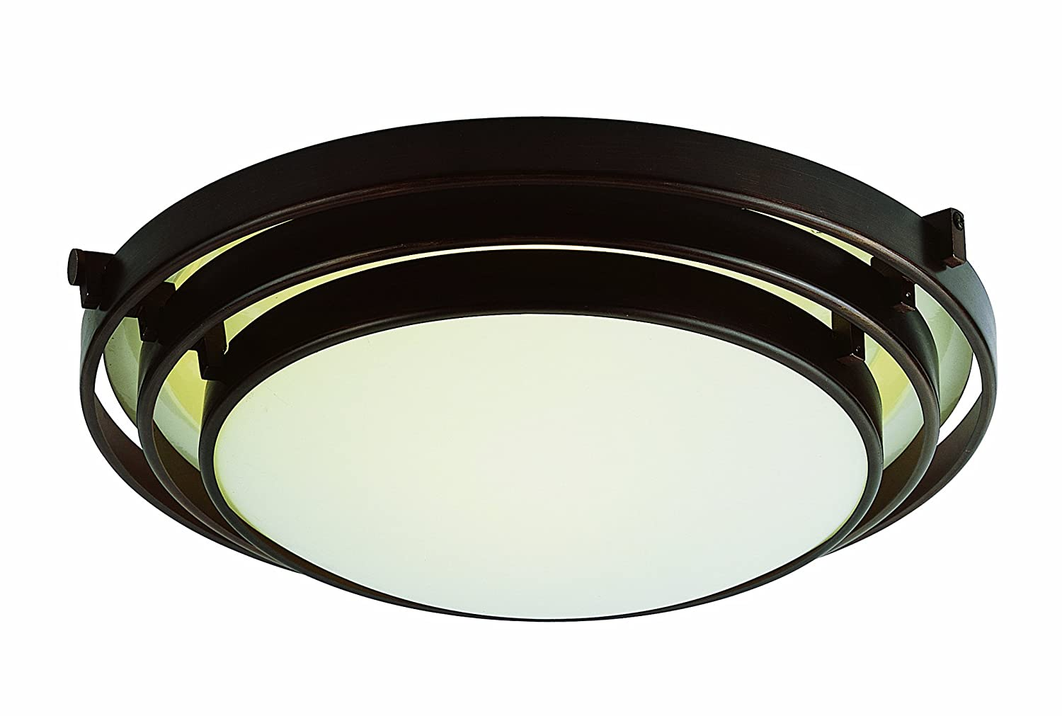 Camino Solare Velux Trans Globe Lighting Pl 2482 Rob 1 Light Flush Mount Rubbed Oil