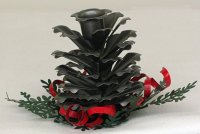 Christmas Pine Cones Candle Holders | Christmas Wikii