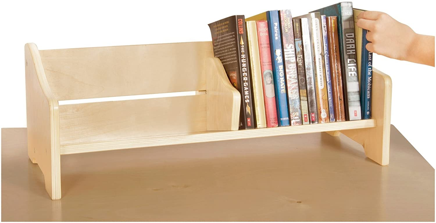 Countertop Book Display Book Rack Display Table Organizer Stand Holder Shelf
