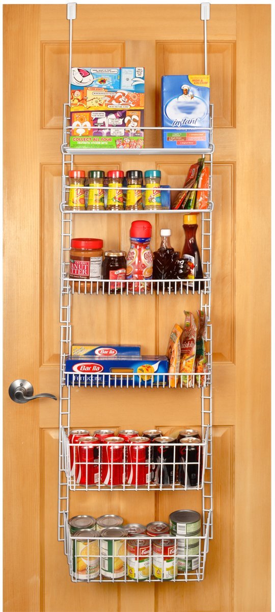 Pantry Organizer Over The Door Kitchen Hanging Food