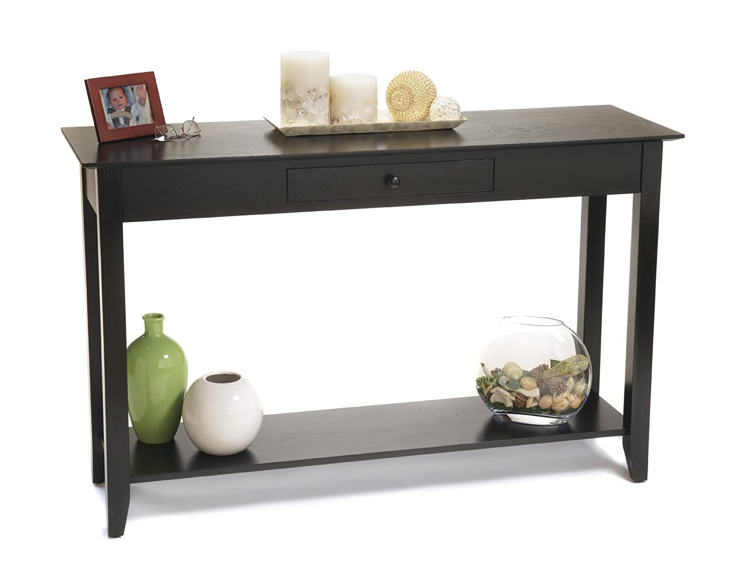 Table Consoles Black Console Table Native Home Garden Design