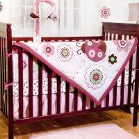 Ladybug Crib Bedding - Totally Kids, Totally Bedrooms ...