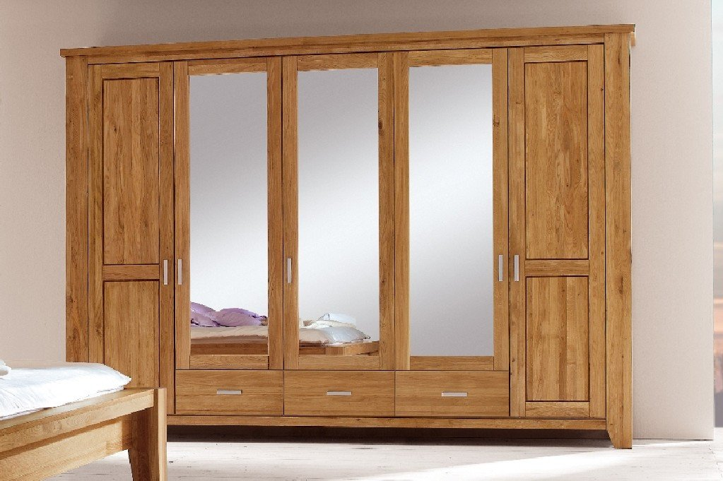 Firstloft 101 0500 Donna Kleiderschrank 5 Türig 309 X 218