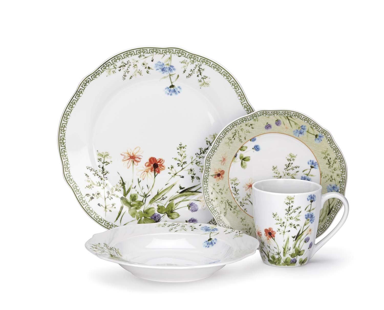 Cuisinart Dinnerware Set Fleurie Collection 16 Pcs