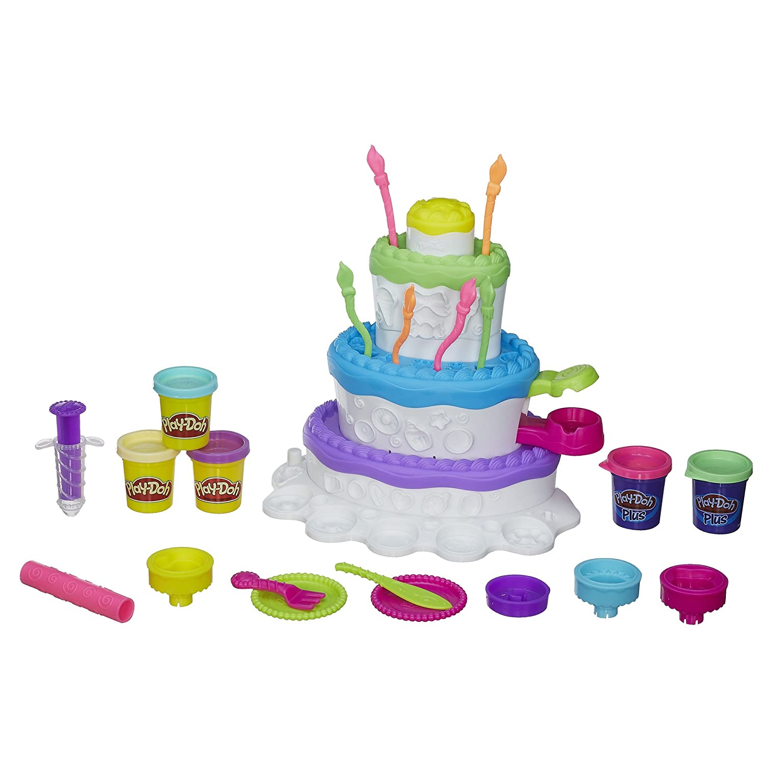 Part Of The Play Doh Cake Mountain Play Set Includes A - Play Doh Küche Müller