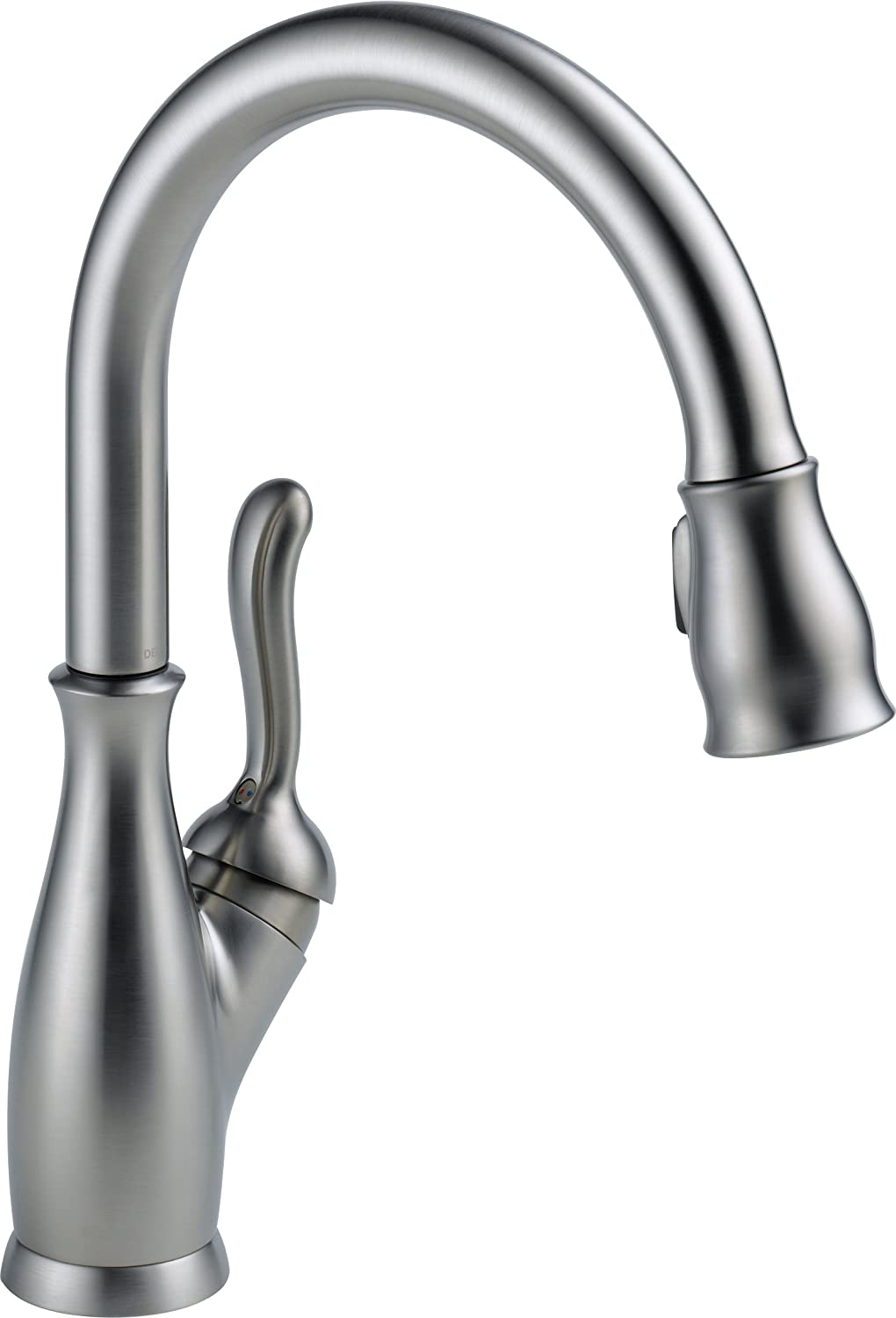 kitchen faucet with matching bar faucet faucets kitchen Delta Faucet AR DST Leland Single Handle Pull Down Kitchen Faucet