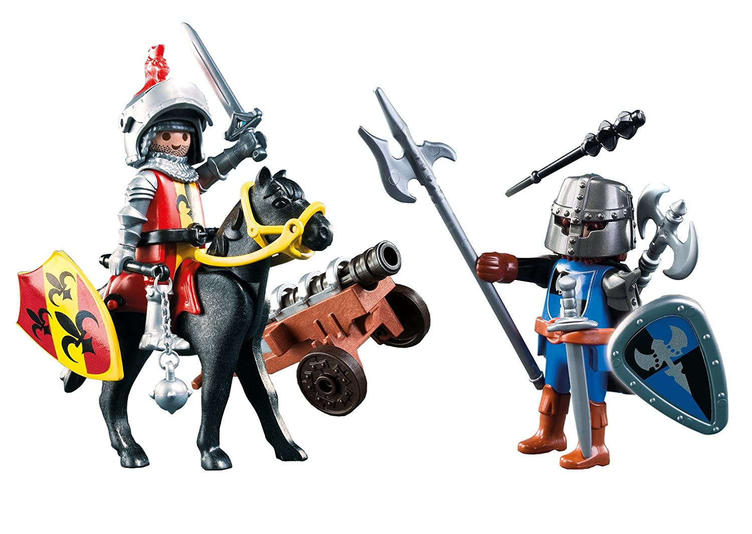 Poussette Canne Amazon Playmobil Chevalier