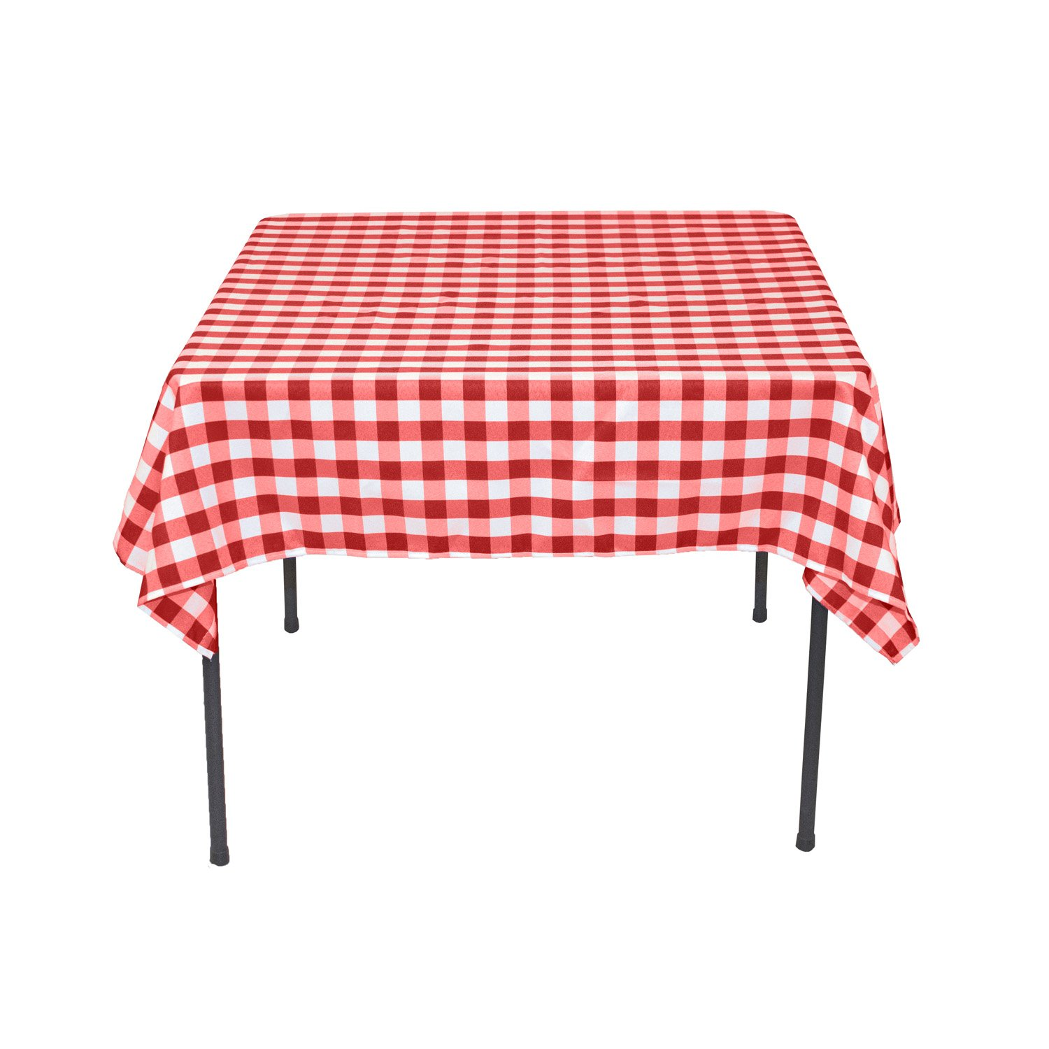 Square Tablecloth Linentablecloth 54 Inch Square Polyester Tablecloth Red