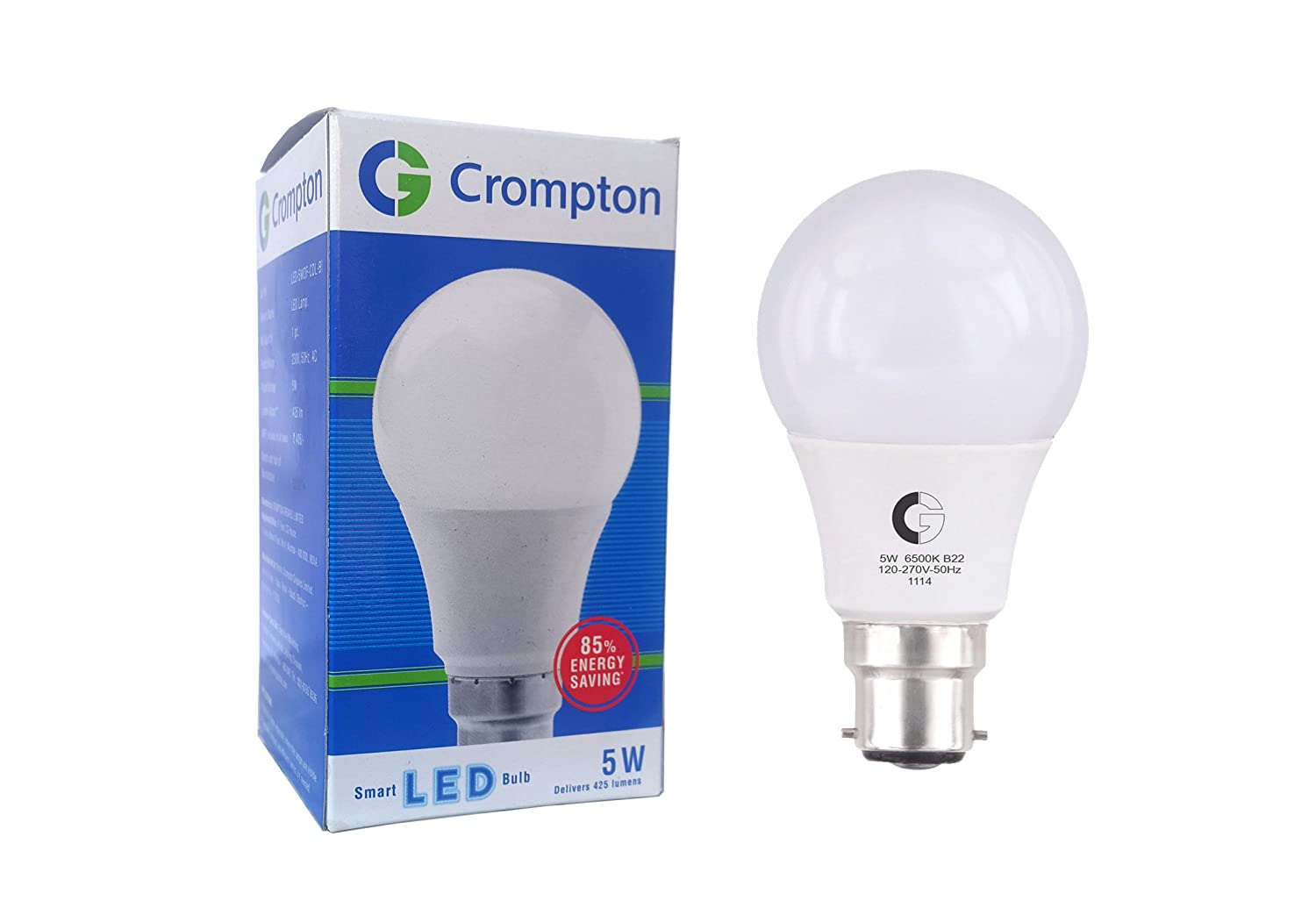 5 Watt Led Crompton Greaves Crompton Greaves Lsb Series 5 Watt Led Lamp Cool Day Light Led Light