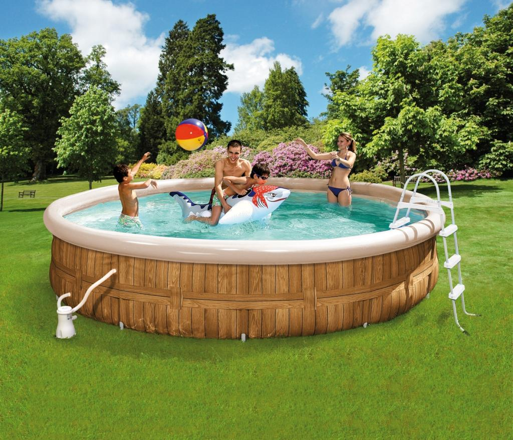 Abdeckplane Family Pool Wehncke Family Pool Set Venice Ø 350 X 90 Cm 12293