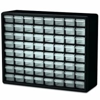 60 Drawer Storage Cabinet Parts Organizer Hardware Small ...