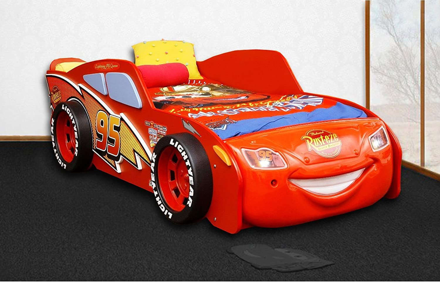 Lit Simple Flash Mcqueen Lits Cars