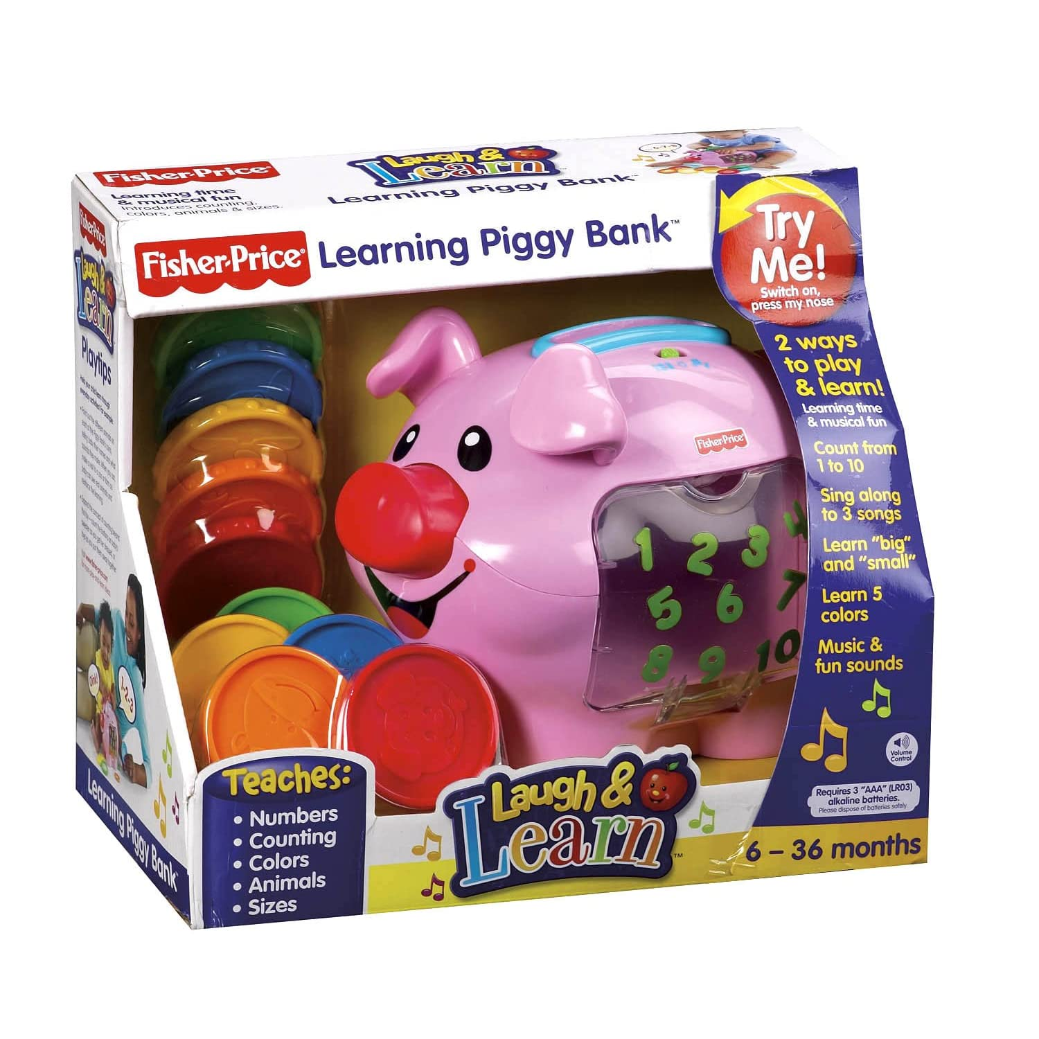 Coin Piggy Bank Toy Fisher Price Laugh And Learn Piggy Bank Musical Piggy