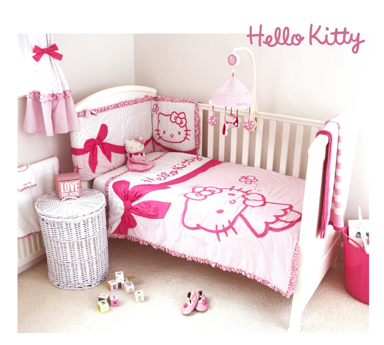 Couette Grande Dimension Parure Lit Hello Kitty