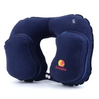 Andake Travel Pillow Neck Inflatable Pillow Best for Your ...