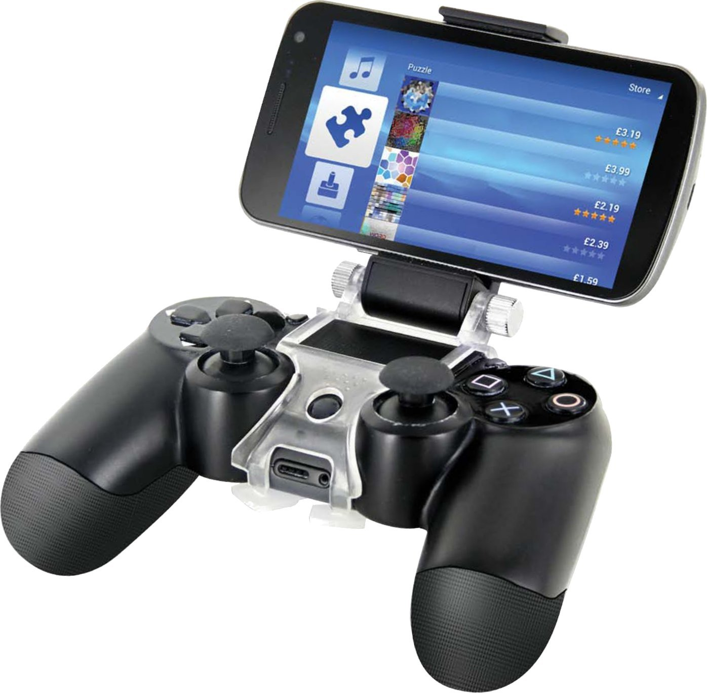 Playstation Contact Attach Your Smartphone To Your Ps4 Controller