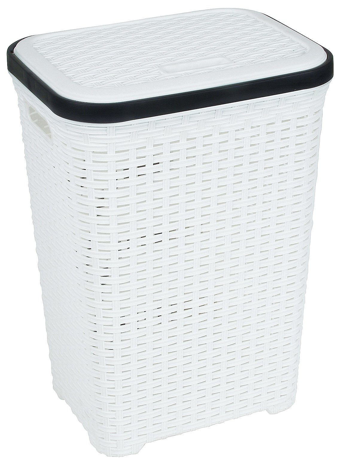 Black Wicker Hamper Rattan Wicker Style 1 7 Bushel Laundry Hamper White