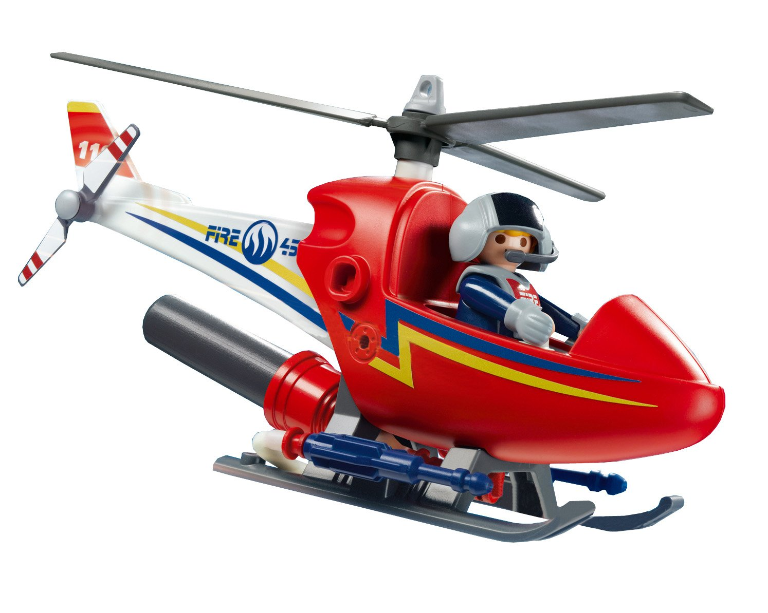 Meuble Gonflable Helicoptere Playmobil