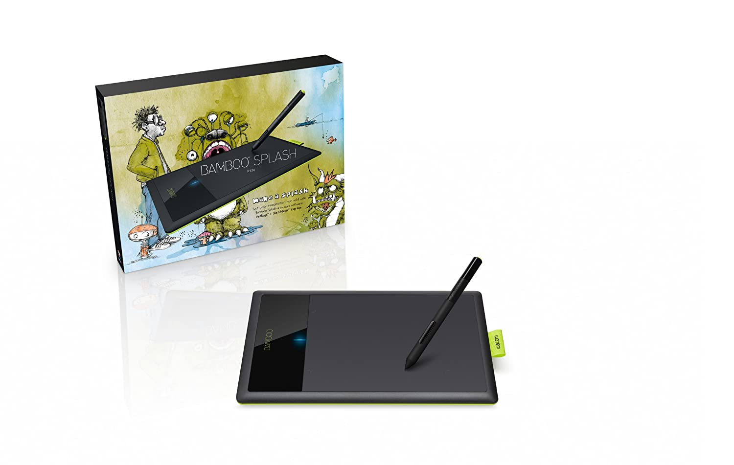 Bamboo Tablet Wacom Bamboo Tablets Drawing Tablets Graphics Tablets
