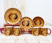 Kokopelli Collection Dinnerware Set - Everything Log Homes