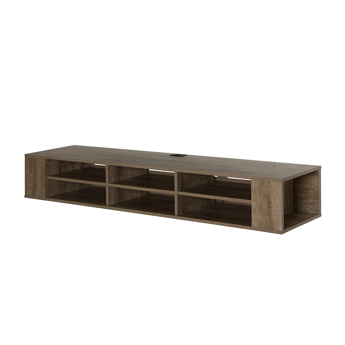 Hanging Media Console South Shore City Life Wall Mounted Media Console 66