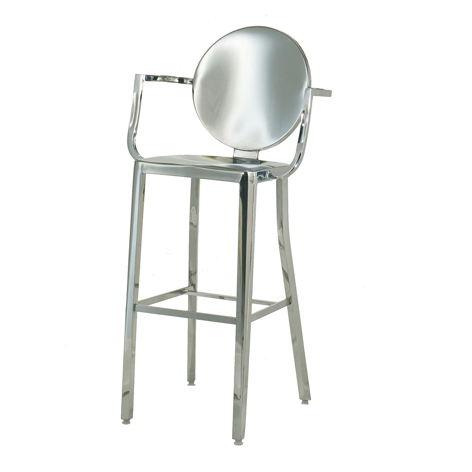 Stainless Bar Stools Stainless Steel Bar Stools Webnuggetz