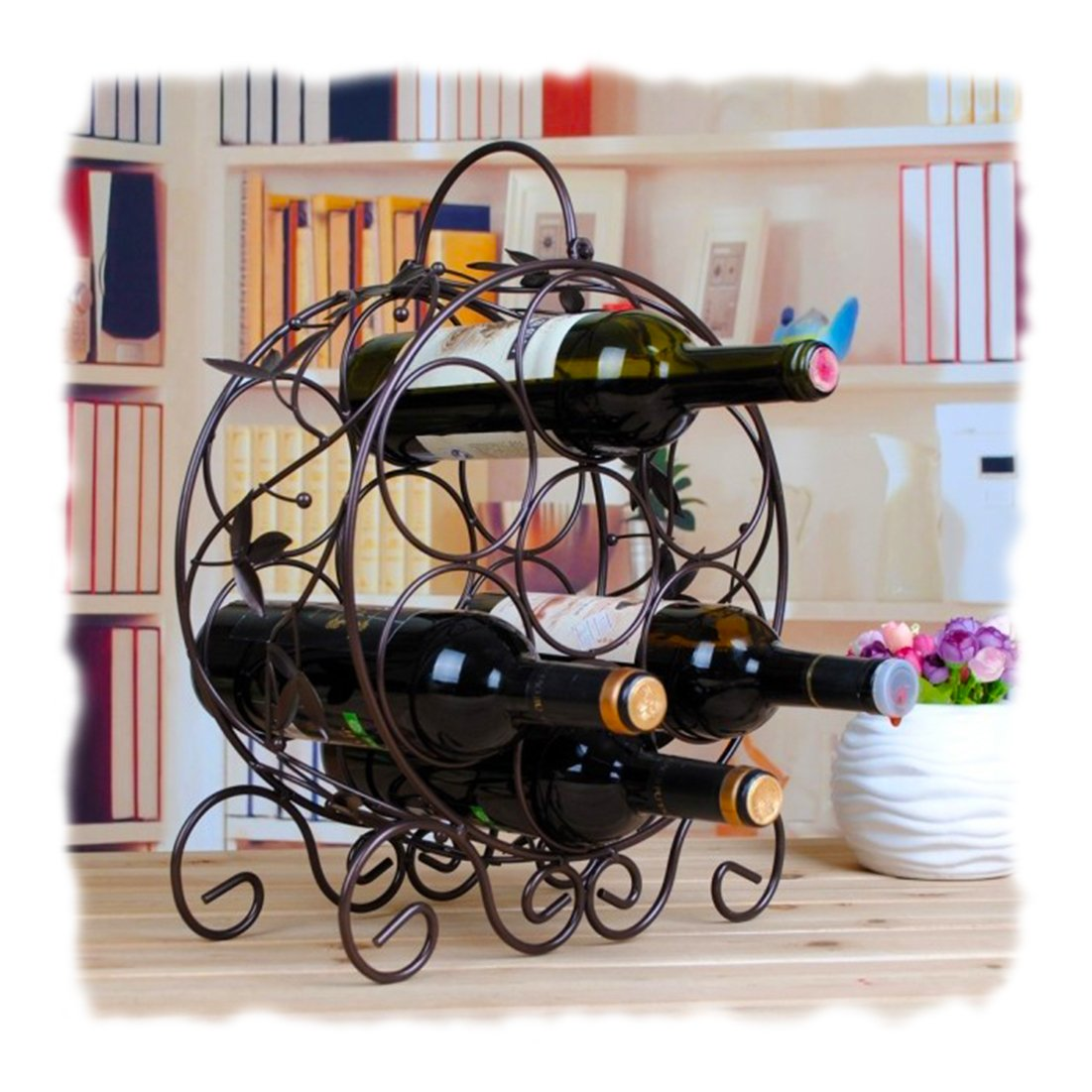 Decorative Metal Wine Racks Cool Kitchen Stuff Decorative Metal Wine Racks For Your Favorite
