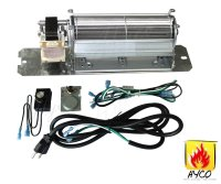 GZ550 Fireplace Blower Fan Kit for Continental Napoleon ...