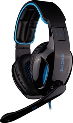 Sades Snuk 7.1 Surround Sound LED Gaming Heasdets