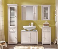 Badezimmermbel Landhausstil: wei, charmant und aus Holz