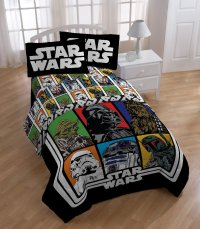 Lucas Film Star Wars Sheet Set, Full Bedroom Kids Home ...