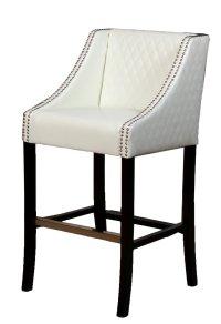 white leather kitchen bar stools white leather bar stools ...