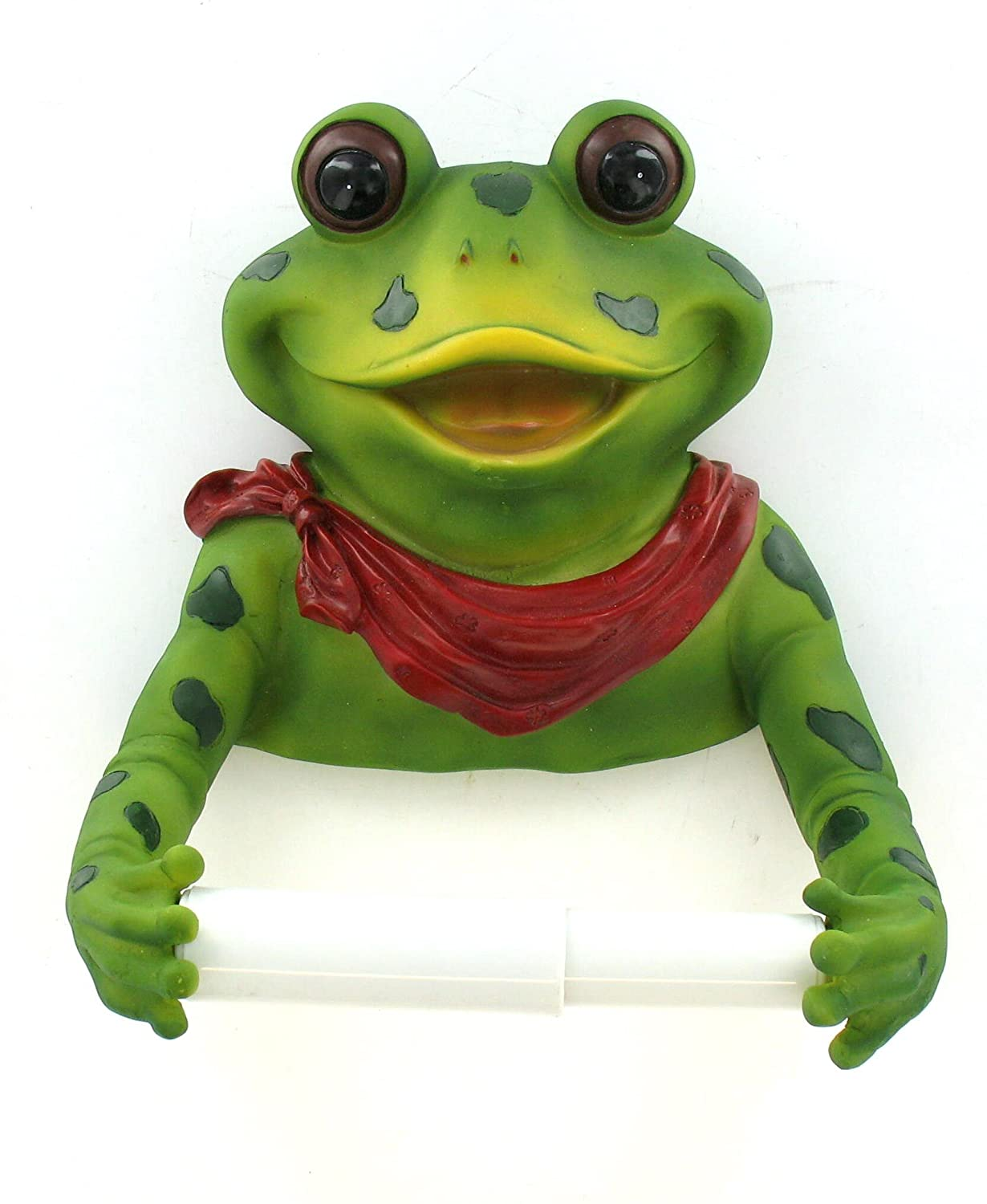Animal Toilet Paper Holder Stand Frog Bathroom Frog Decorations
