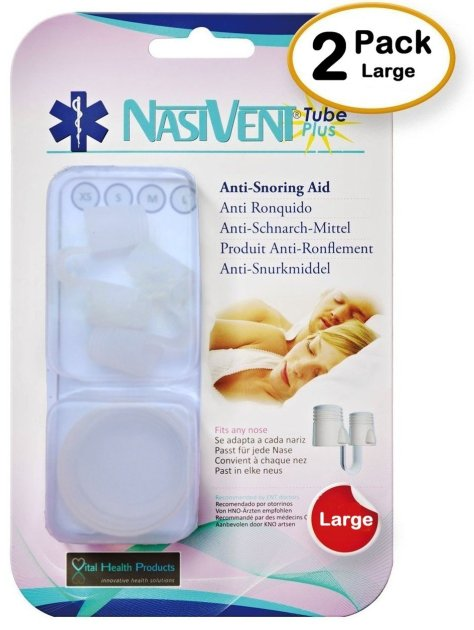 NasiVent Tube Plus Anti Snoring Device