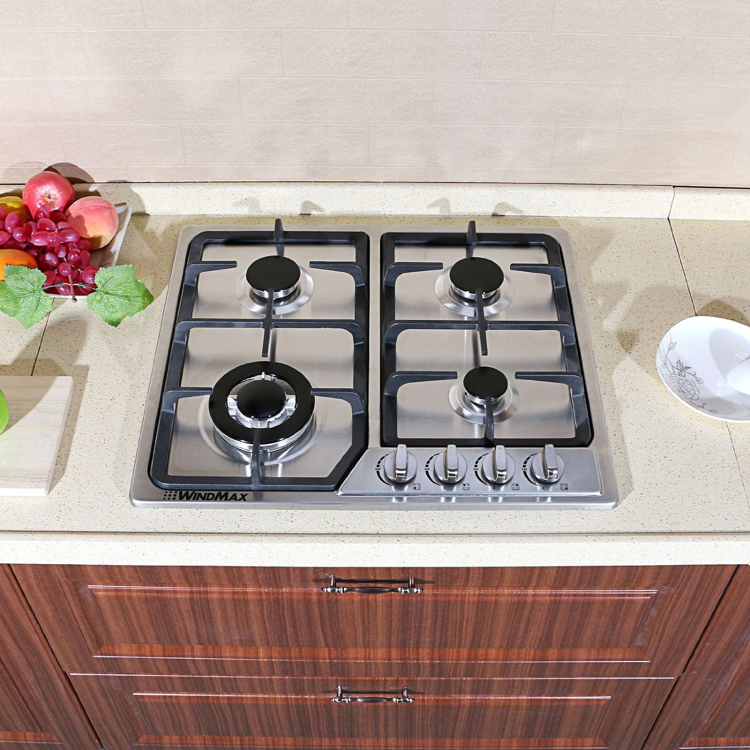 Cooktop Gas Stoves Windmax 31 5 39 39 Induction Hob Timmer 4 Burner Stove