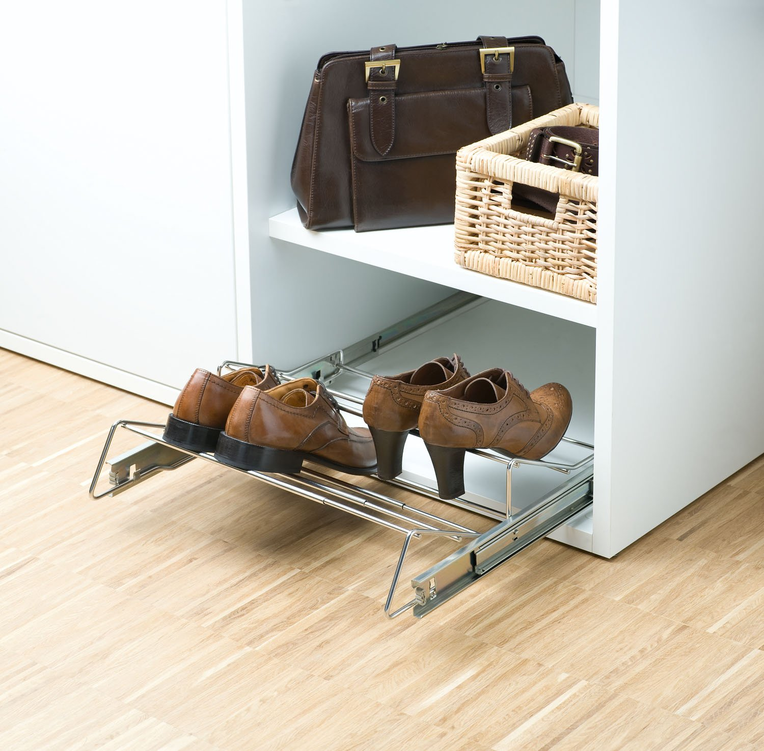 Porte Chaussures Castorama Range Chaussures Coulissant Extensible