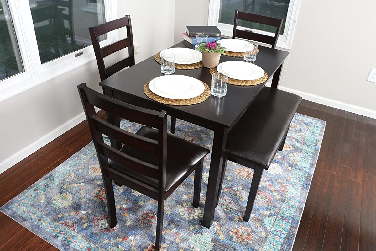 2 Person Dining Set 4 Person 5 Piece Kitchen Dining Table Set 1 Table 3