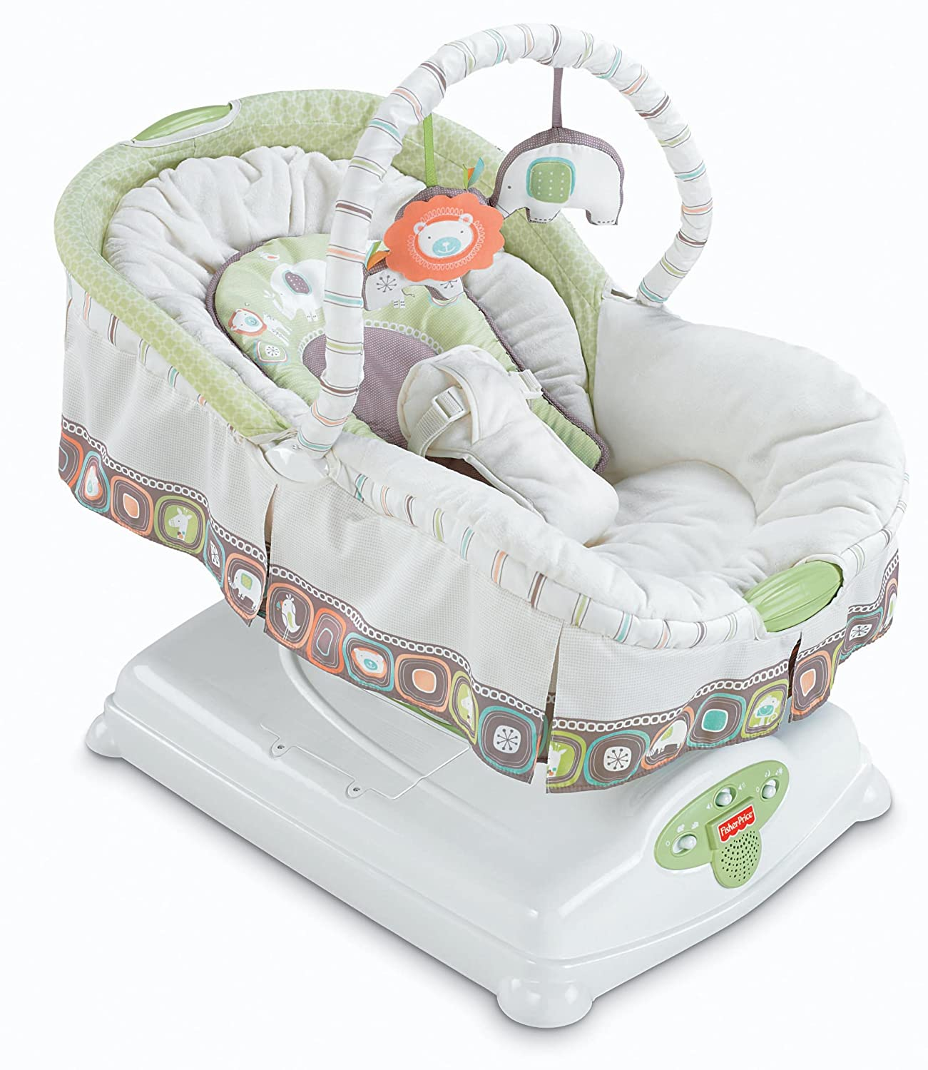 Baby Rocker Bed Fisher Price Coco Sorbet Soothin Motion Glider Bassinet