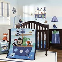 Lambs and Ivy Little Pirates Baby Bedding and Accessories