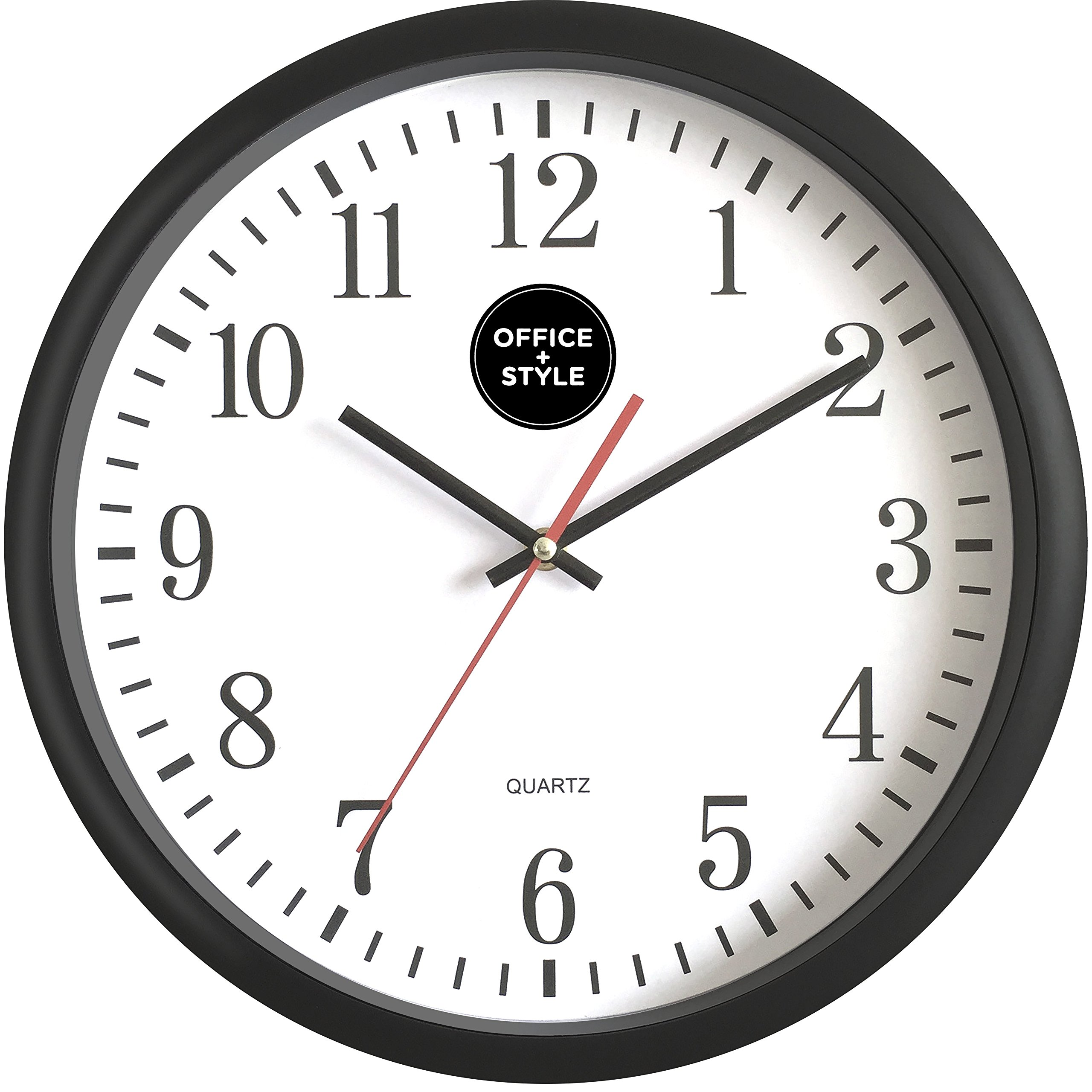 Stylish Digital Clock Analog Wall Clock With Anti Scratch Plexi Glass Cover