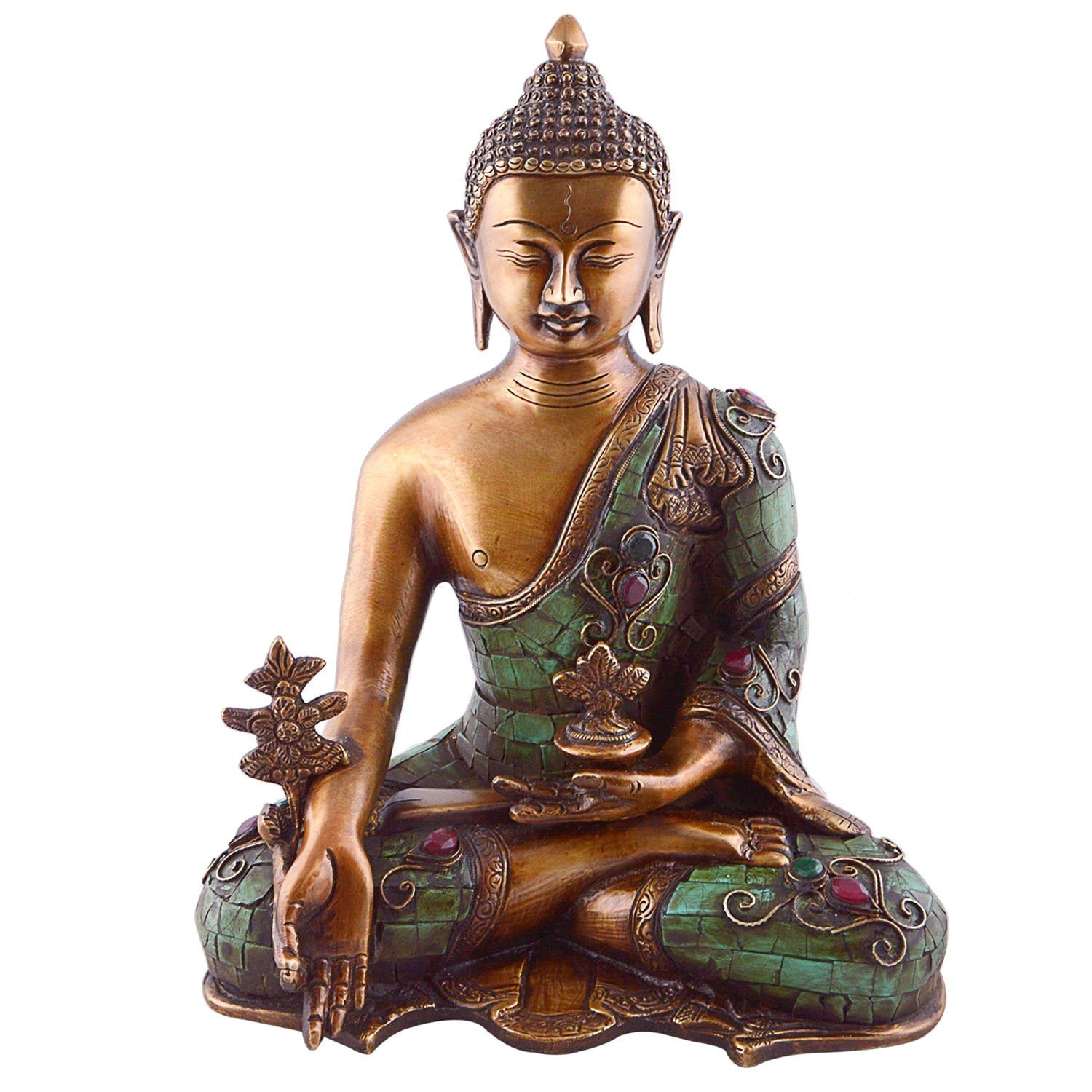 Amazon Buddha Figur Large Buddha Statues Sitting For Garden And Home