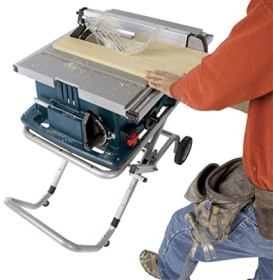 Bosch Table Saw In Use