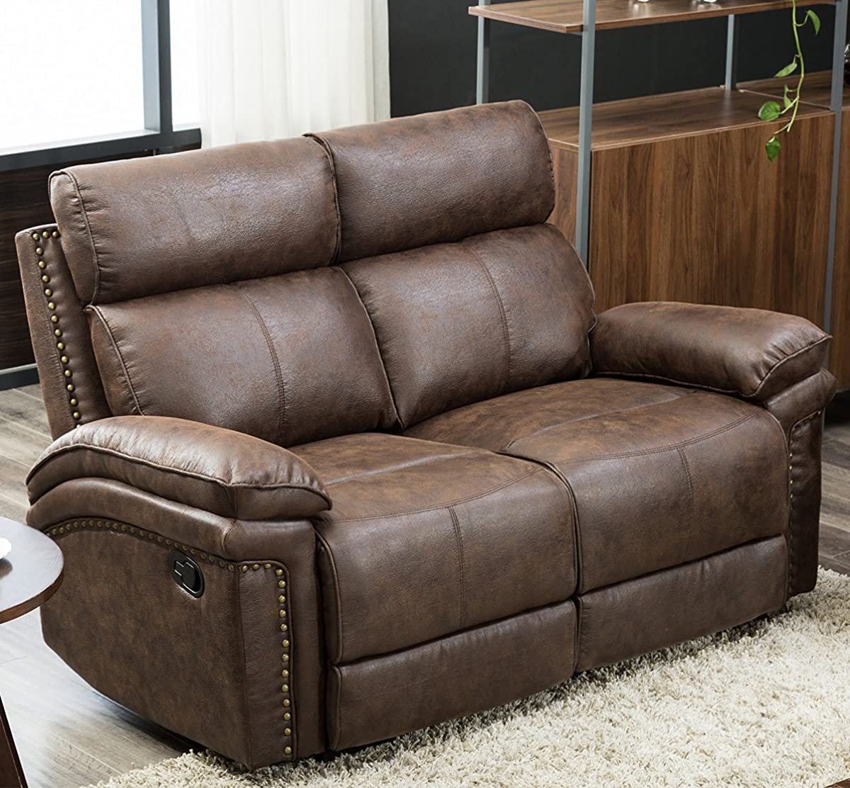 Modern Living Room Recliners Harper Bright Designs Living Room Sectional Recliner Sofa Set