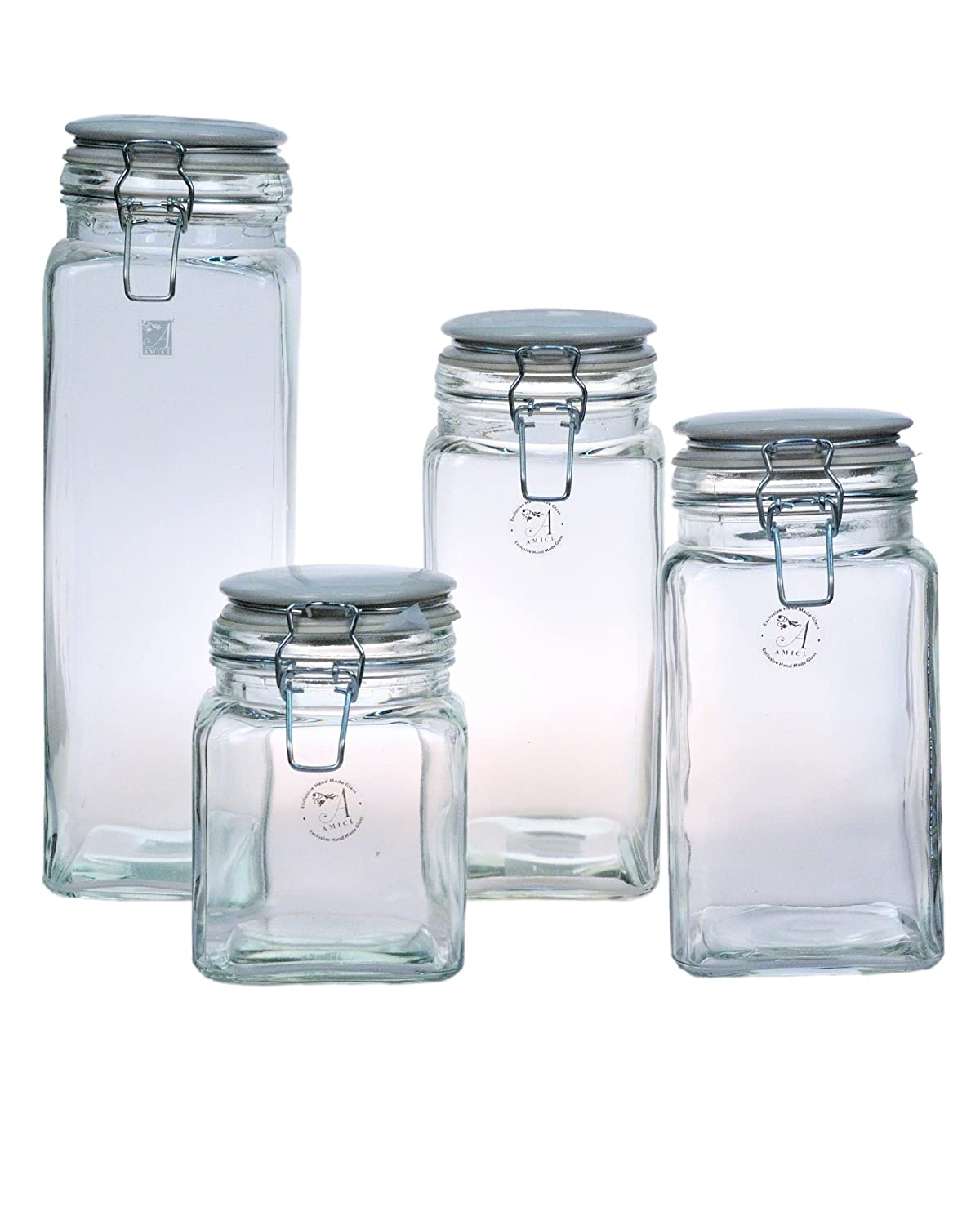 Small Ceramic Jars With Lids Glass Storage Jars Spice Canning Ceramic Bottle Kitchen