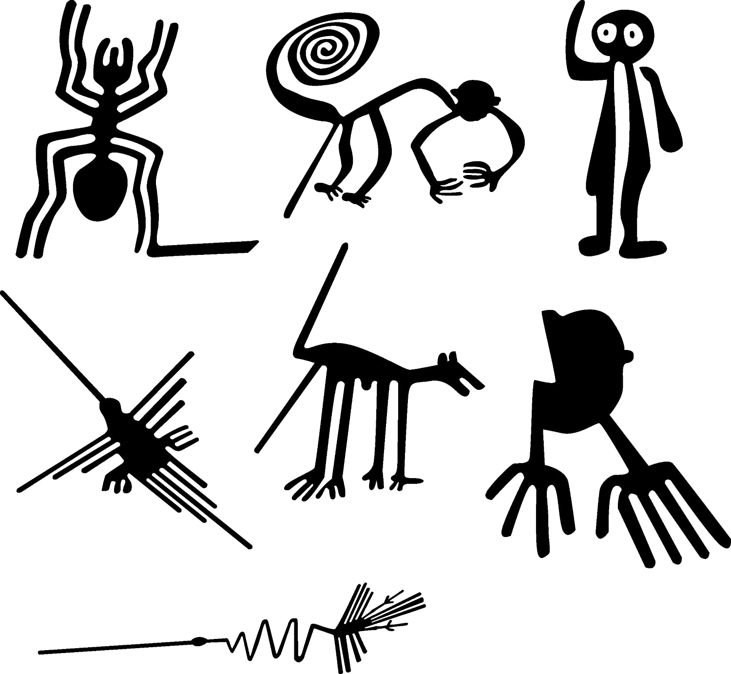 Free Coloring Pages Of Lineas De Nazca